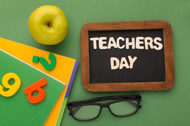 Układ elementów dnia nauczycielskiego