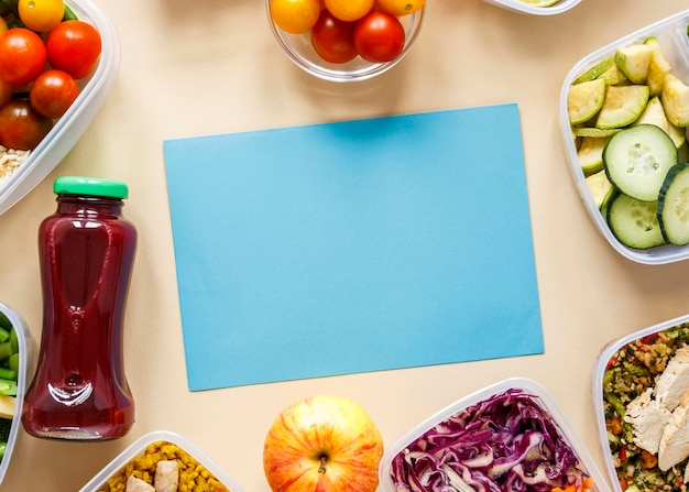 Układ gotowania wsadowego z niebieską kartą