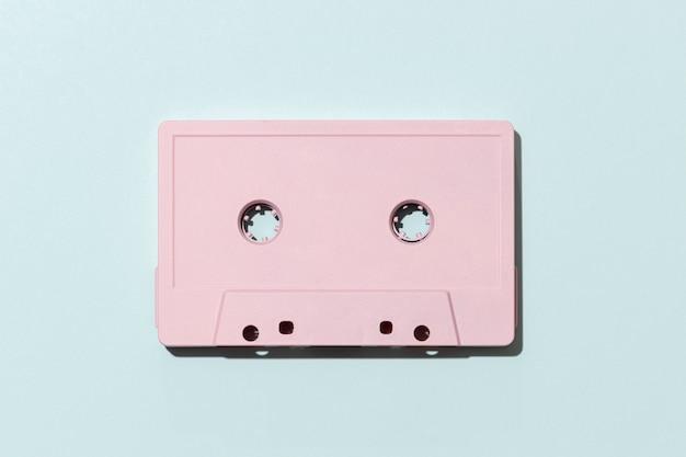 Układ kaset magnetofonowych w stylu vintage