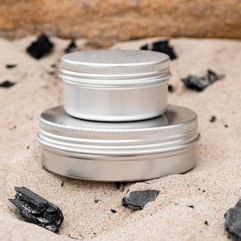 Układ odbiorców nawilżenia skóry w piasku