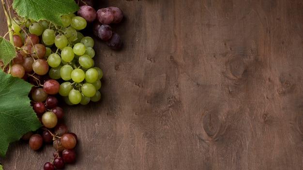 Układ owoców jesienią z miejsca na kopię