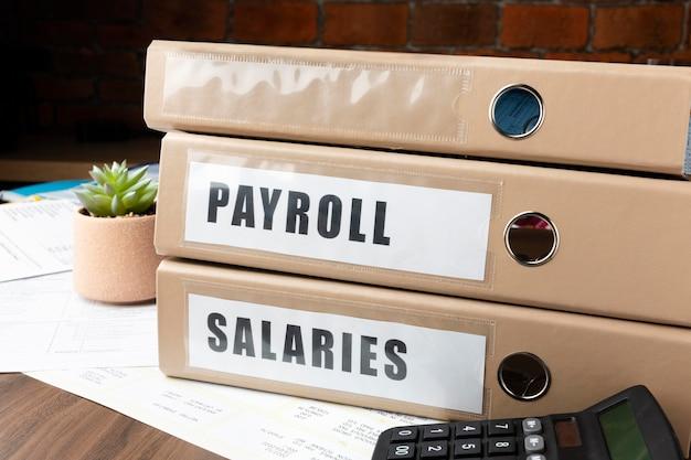 Układ plików płacowych