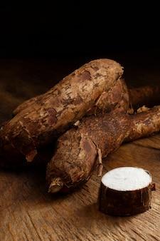 Układ pożywnych korzeni manioku