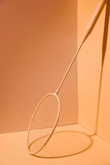 Układ rakiet do badmintona