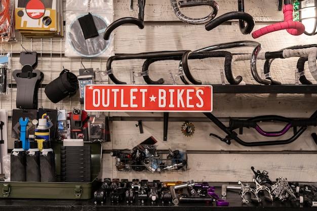 Układ wylotów na rowery