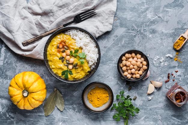 Układ żywnościowy pakistan widok z góry
