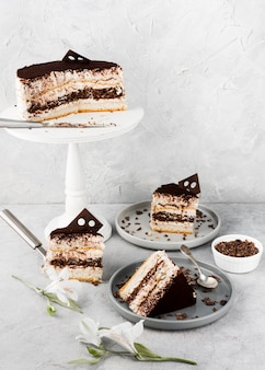 Układanie ciastek czekoladowych
