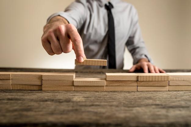 Ukończenie koncepcji biznesowej z cegły