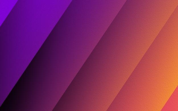 Ukośna linia streszczenie kolorowe tło. gradientowe kształty linii ukośnych