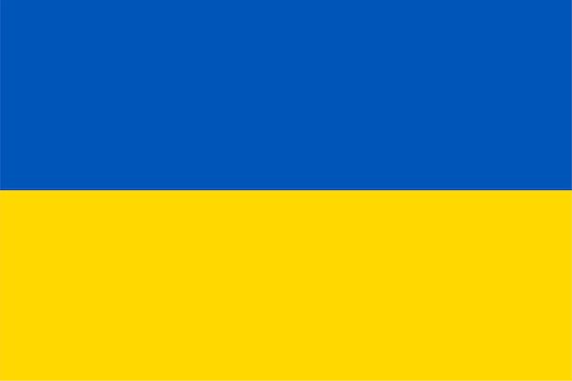 Ukraińska flaga ukrainy