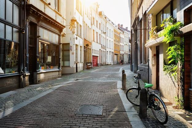 Ulica w antwerpii, belgia
