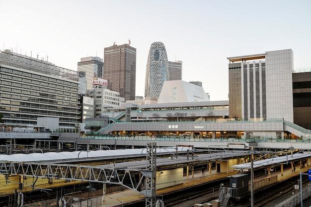 Ulice i budynki w japonii