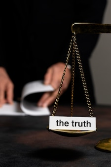 Ułożenie koncepcji prawdy z równowagą