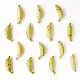 Ułożony wzór bananów