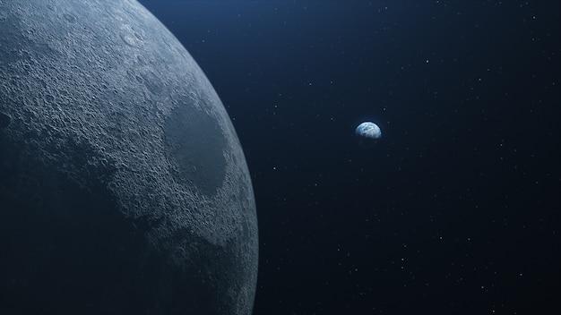 Ultra realistyczna ziemia z kosmosu