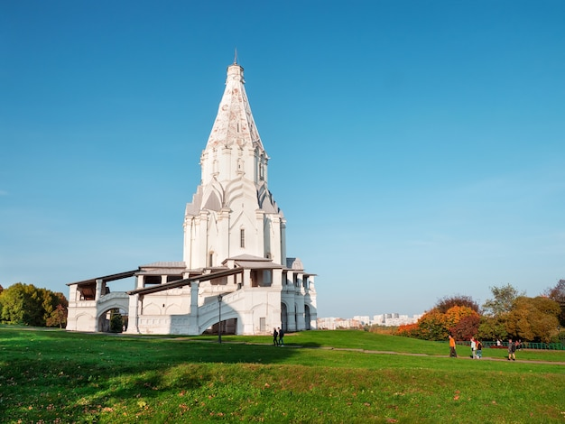 Unesco moskwa kolomenskoye rekreacja w muzeum kolomenskoje