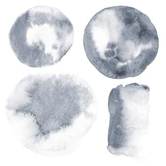 Unikalne tło. ręcznie rysowane akwarela tekstury.