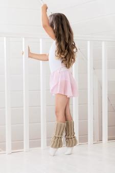 Urocza mała baletnica