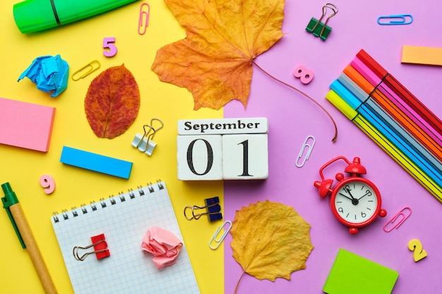 Uroczystość rozpoczęła się 1 września z powrotem do szkoły