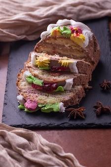 Urodzinowy słodki tort