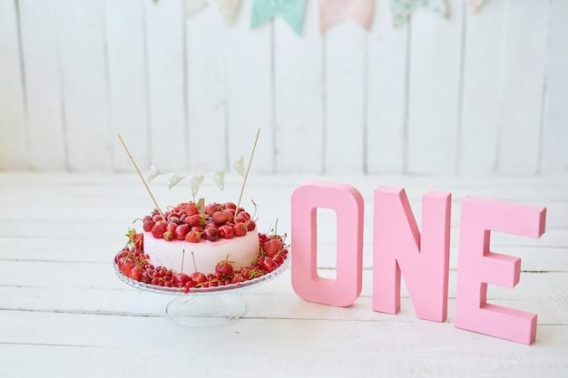 Urodziny 1 rok cake smash decor