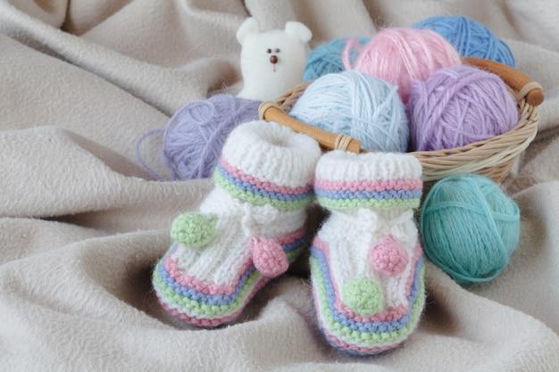 Urodziny dziecka z łupem na miękkiej tkaninie