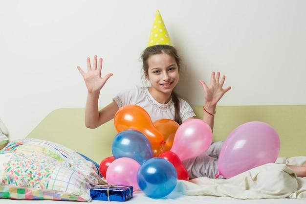 Urodziny nastolatki mają dziesięć lat