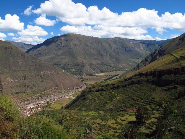 Urubamba sacred valley of incas, peru, ameryka południowa