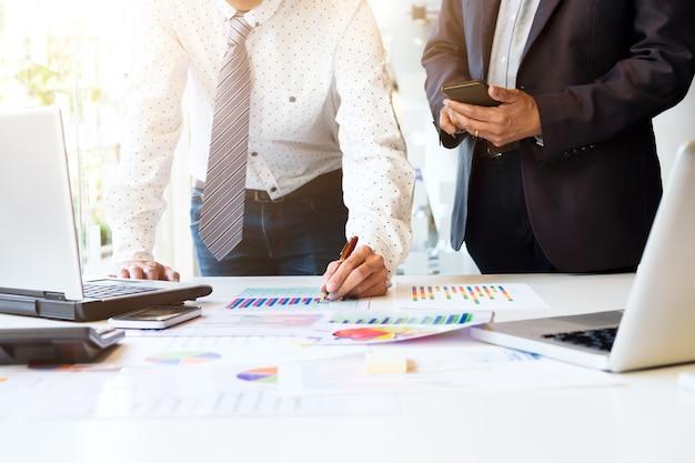 Uruchom spotkanie biznesowe po analizie danych marketingowych.