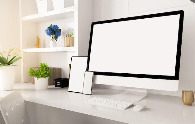 Urządzenia reagujące na domowe biuro
