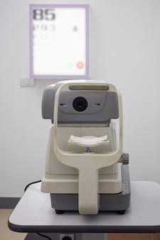 Urządzenie do badania wzroku do optometrii