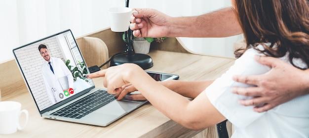 Usługa telemedyczna lekarza online
