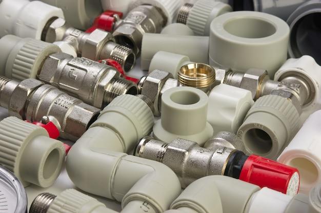 Ustaw złączki hydrauliczne