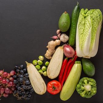 Ustawić zdrową dietę warzyw i owoców