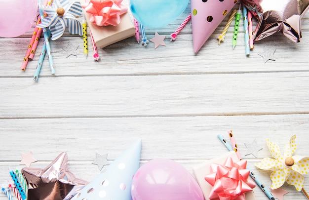 Ustawienie stołu urodzinowego