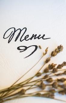 Ustawienie stołu za pomocą menu