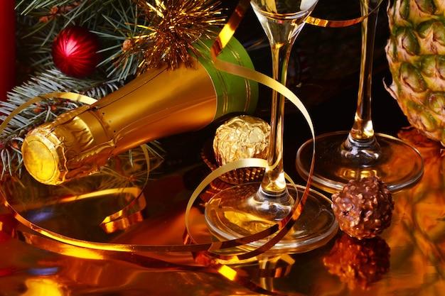 Ustawienie świąteczne i noworoczne