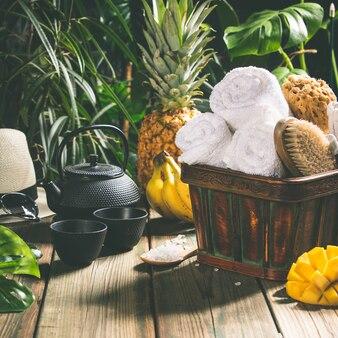 Ustawienie tropical spa