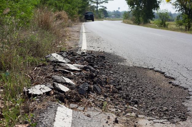 Uszkodzenie drogi