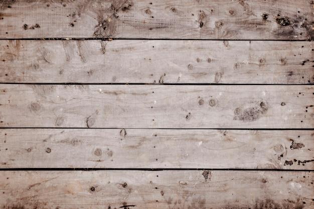 Uszkodzone drewno z widoku z góry