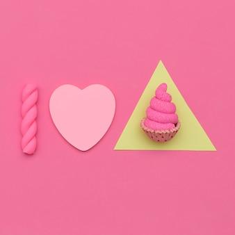 Uwielbiam babeczki. candy minimal mood