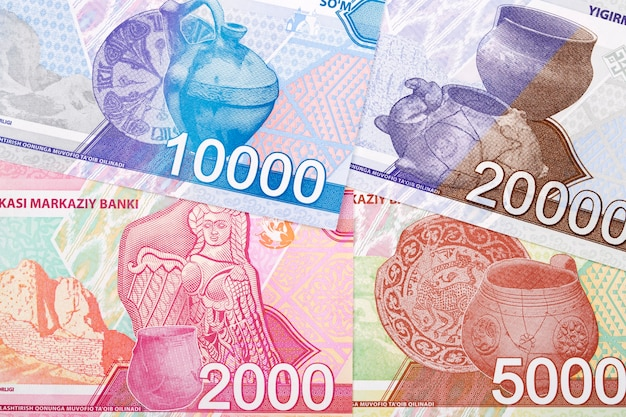 Uzbeckie pieniądze mają tło biznesowe