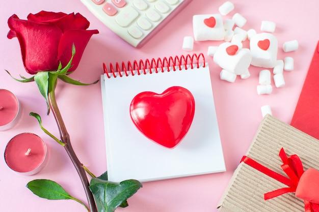 Valentine day leżał płasko