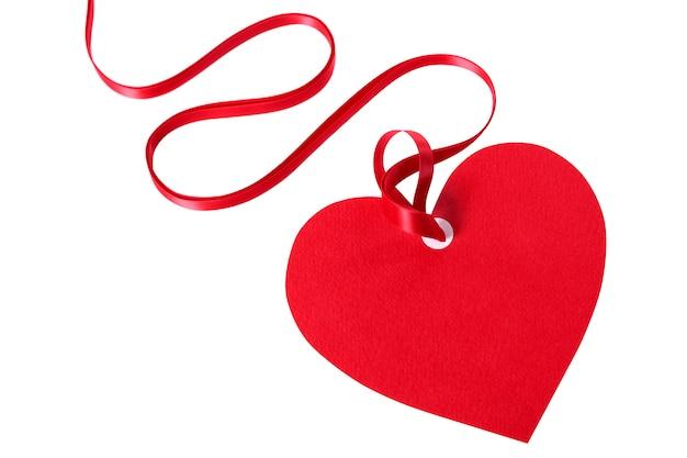 Valentine karty lub prezent tag