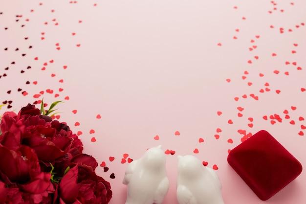 Valentine na różowo