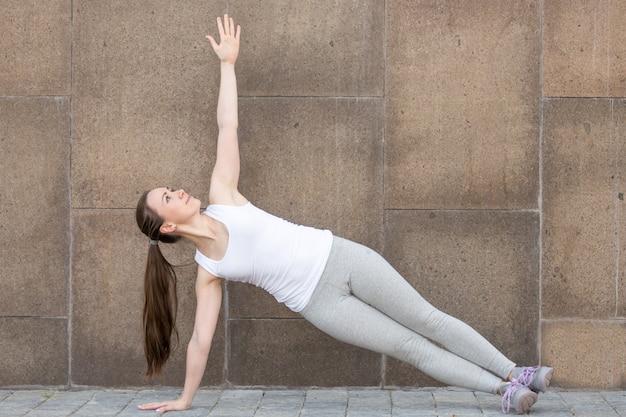 Vasisthasana, stanowisko side plank