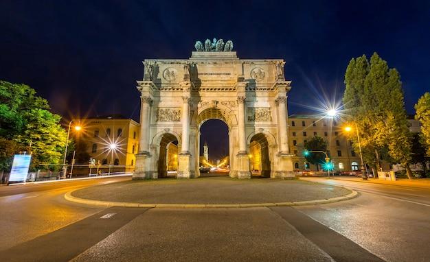 Victory arch w monachium