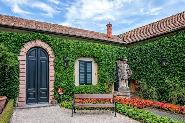 Villa del balbianello zielony ogród