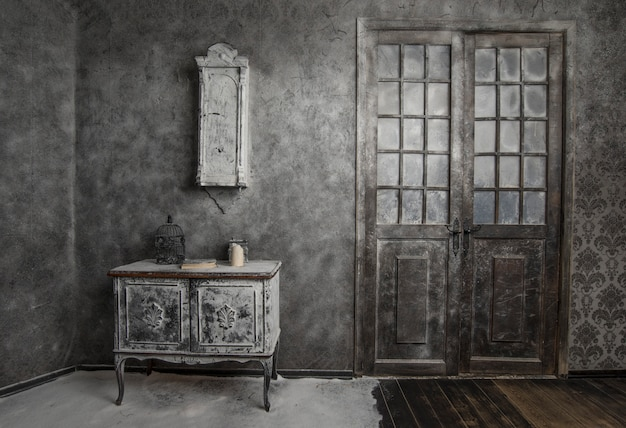 Vintage adandoned wnętrza
