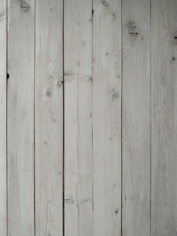 Vintage biały drewniany stół tło widok z góry.